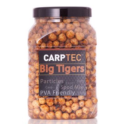 Graines cuites carpe dynamite baits carptec particles big tigernuts - Prêtes à l'emploi | Pacific Pêche