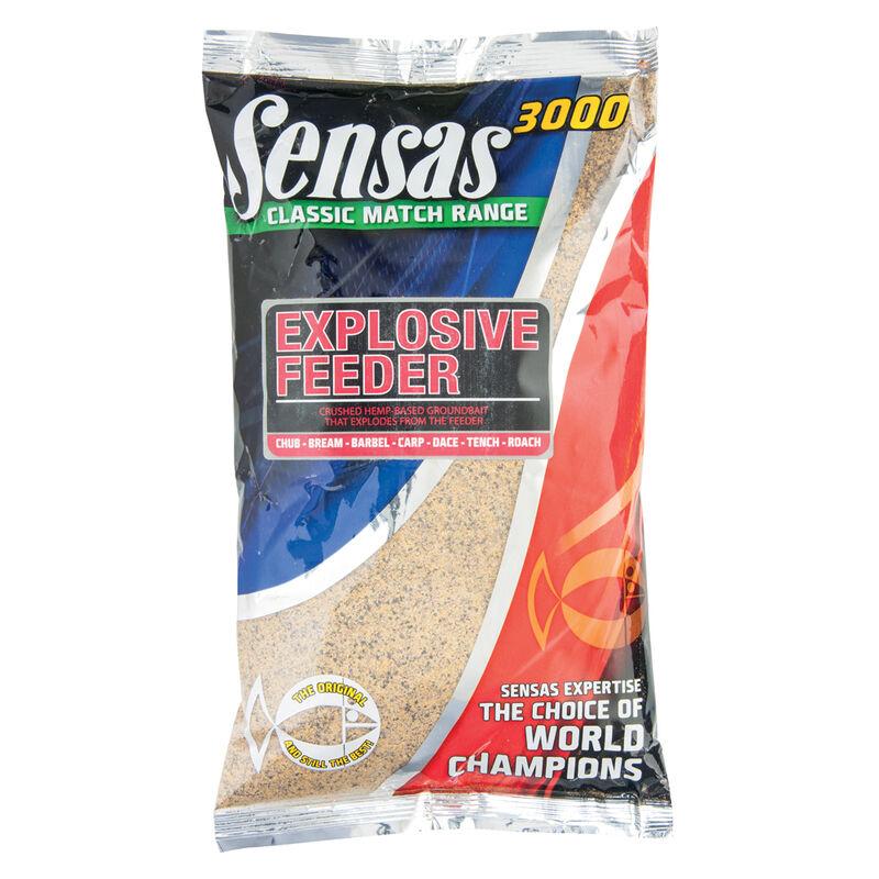 Amorce coup sensas 3000 explosive feeder 1kg - Amorces   Pacific Pêche