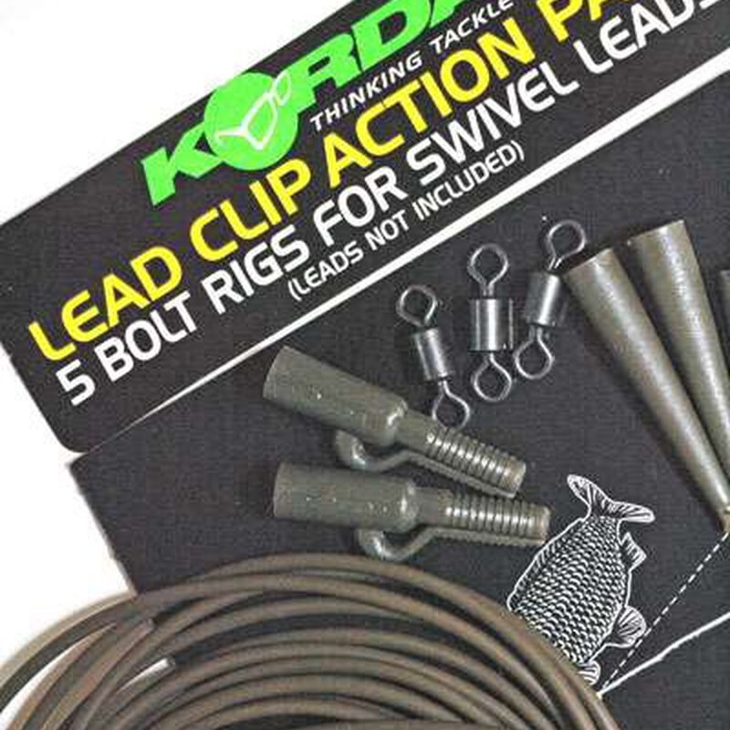 Montage carpe korda lead clip action pack - Kit Montage Complet | Pacific Pêche