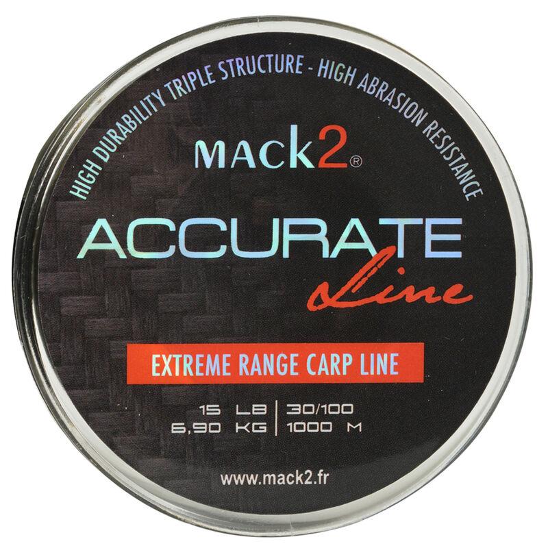 Nylon carpe mack2 accurate line 1000 m - Monofilament   Pacific Pêche