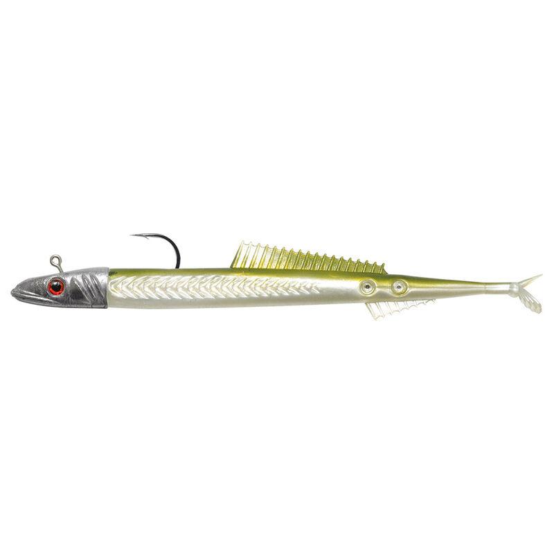 Leurre souple monté delalande fire eel 13cm 30g - Leurres souples | Pacific Pêche