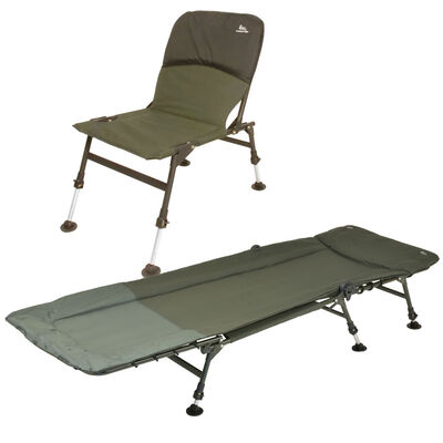 Pack team carpfishing process bedchair + premium chair - Packs | Pacific Pêche