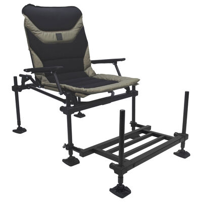 Pack chaise feeder coup korum x25 accessory chair + repose-pieds - Packs | Pacific Pêche