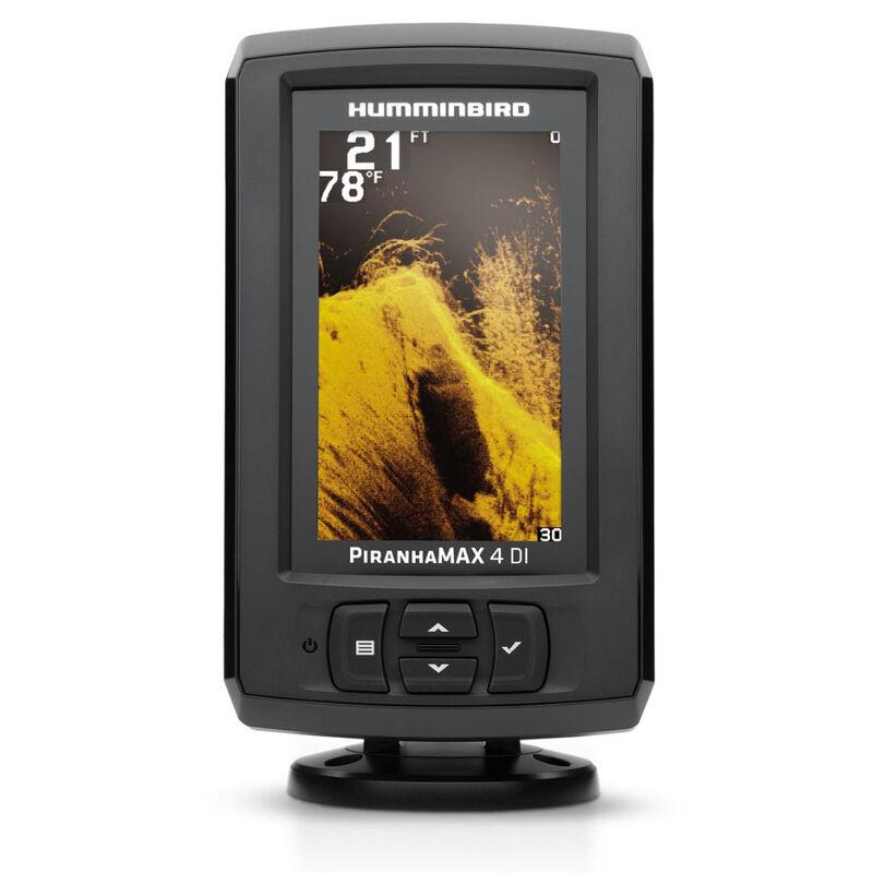 Sondeur humminbird piranha max4 di sonde ta+t° 200/2x455khz - Sondeurs | Pacific Pêche