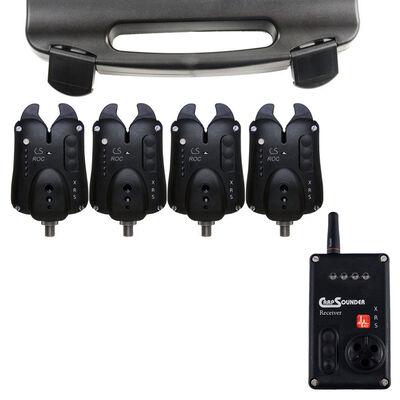 Coffret détecteurs carpe carpsounder set 4 roc xrs avec centrale - Coffrets détecteurs | Pacific Pêche