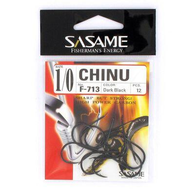Hameçon sasame chinu dark black 713 - Simples | Pacific Pêche