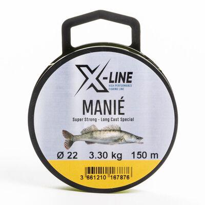 Nylon carnassier x-line manié 150m - Monofilaments | Pacific Pêche