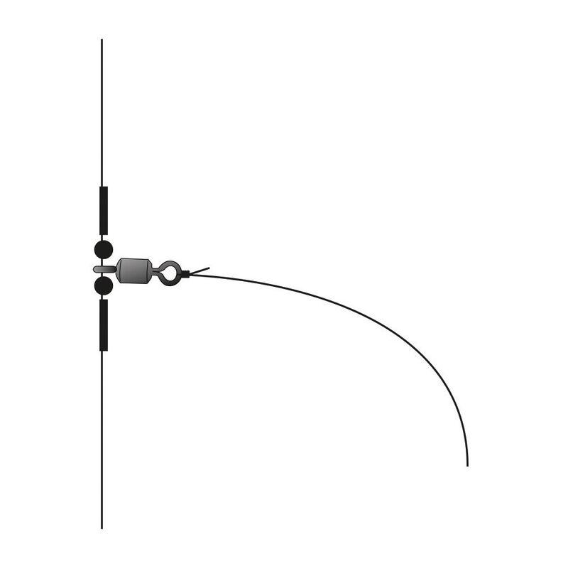 Bas de ligne flashmer pro line 2 hameçons - Bas de Lignes / Lignes Montées | Pacific Pêche