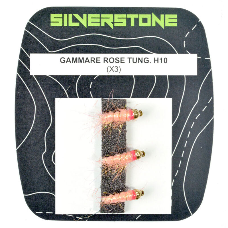 Nymphe silverstone gammare rose tungstène h10 (x3) - Nymphes | Pacific Pêche