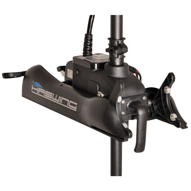 Moteur electrique avant haswing cayman b 55 lbs + telecomm.+quick release + pedale - Electriques | Pacific Pêche