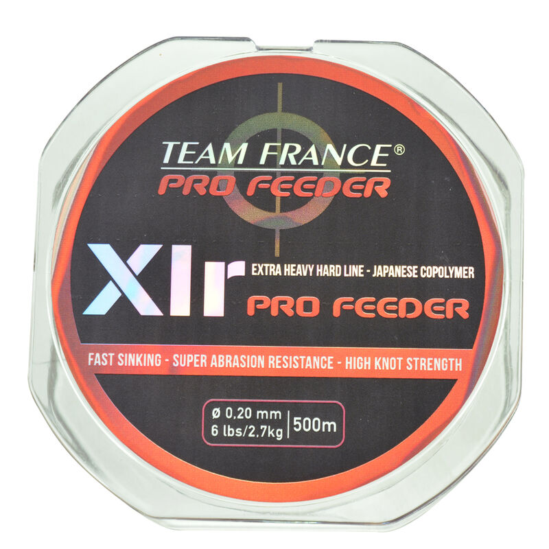 Nylon coup team france xlr pro feeder 500m - Monofilaments | Pacific Pêche