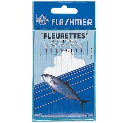 Bas de ligne mer flashmer fleurettes fritures 8 hamecons n°18 - Bas de Lignes / Lignes Montées | Pacific Pêche