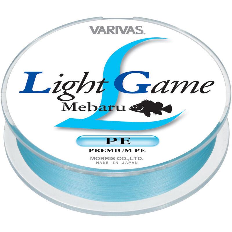 Tresse varivas light game mebaru 100m - Tresses   Pacific Pêche