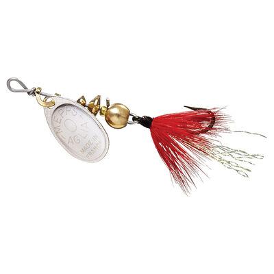 Cuillère tournante carnassier mepps aglia argent mouche rouge (x1) - Leurre cuillères | Pacific Pêche