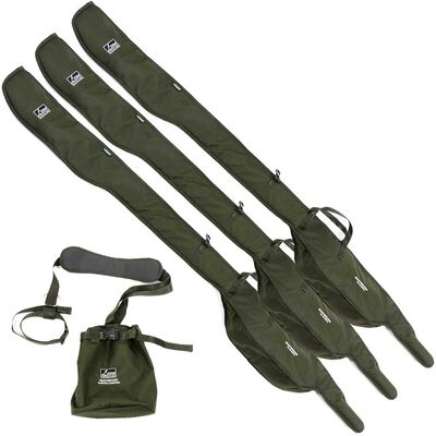 Pack bagagerie hoogendijk 3 rod sleeve 12' + sleeve carrying - Packs | Pacific Pêche
