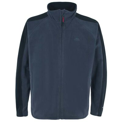 Veste polaire homme trespass acres fleece navy - Vente privée | Pacific Pêche