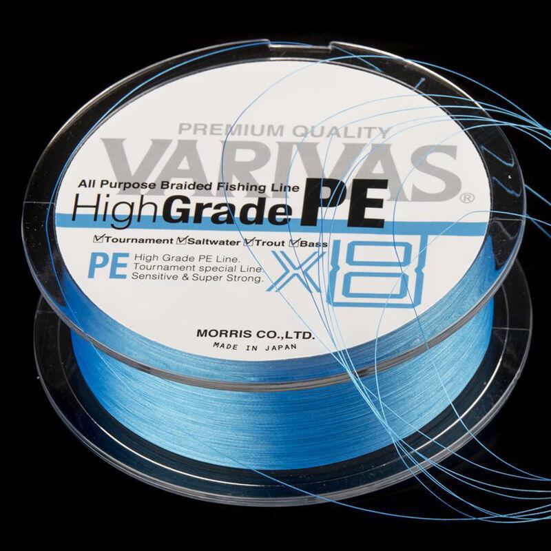 Tresse varivas 8 brins high grade bleue 150m - Tresses | Pacific Pêche