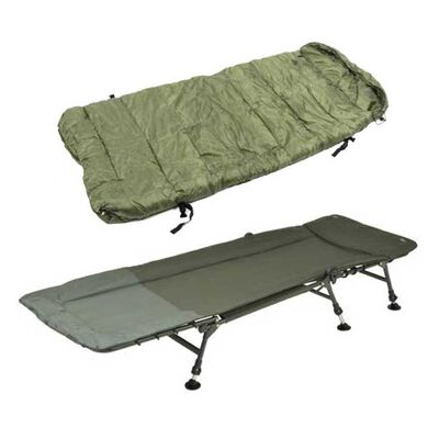 Pack confort team carpfishing bedchair + duvet process - Packs | Pacific Pêche