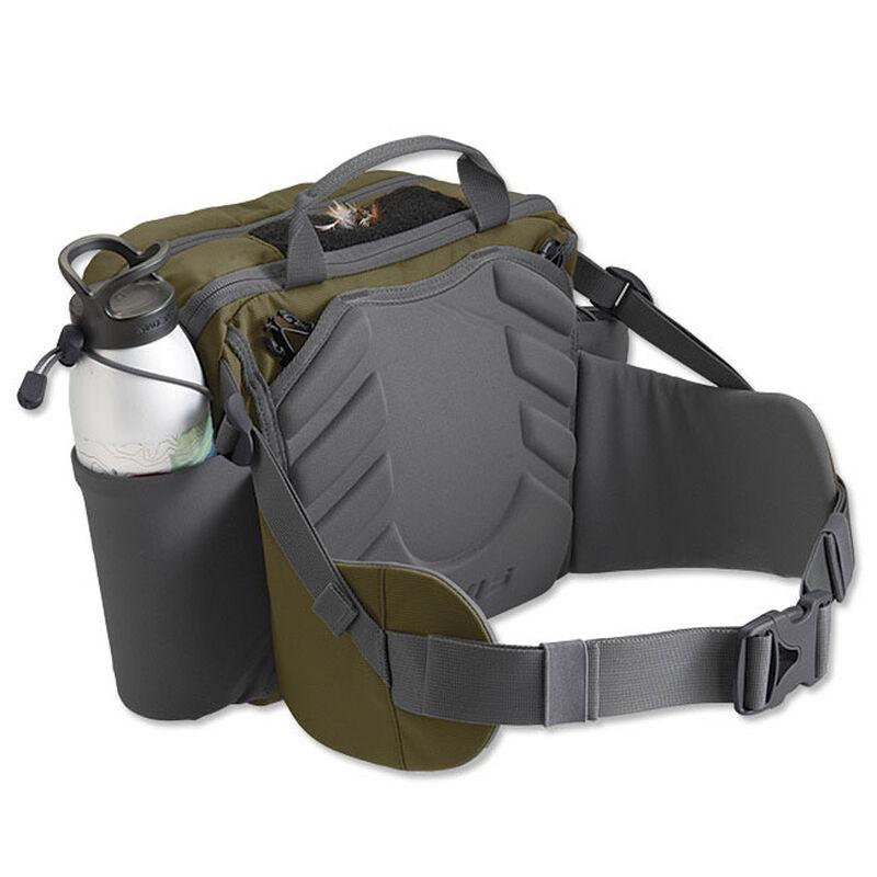 Sac mouche orvis safe passage hip pack olive grey - Sacs | Pacific Pêche