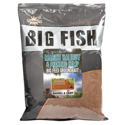 Groundbait carpe dynamite baits big fish marine halibut / hemp 1.8kg - Methods Mix | Pacific Pêche