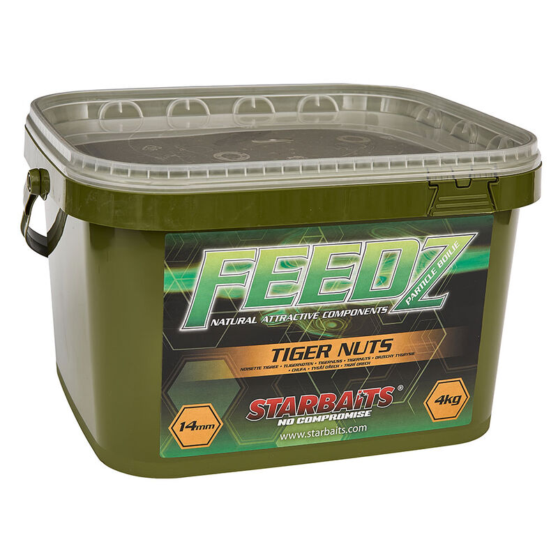 Bouillettes carpe starbaits feedz tigernut 4kg - Denses | Pacific Pêche
