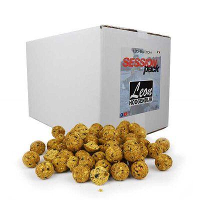 Bouillettes carpe leon hoogendijk session pack maïs tiger nut 25kg - Denses | Pacific Pêche