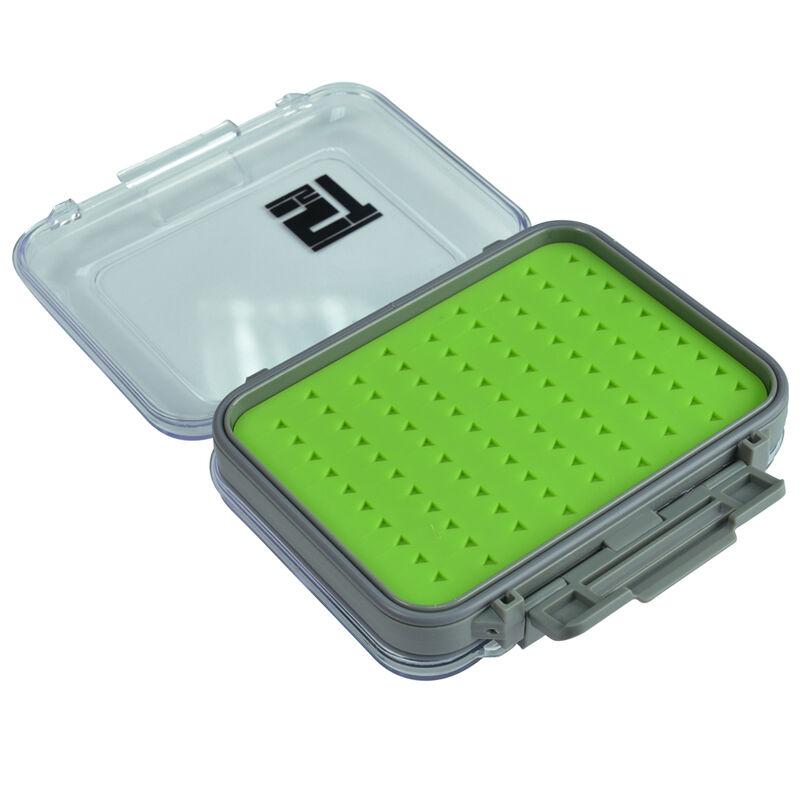 Boîte à mouche silverstone waterpro rubber twin/small (capacité 180 mouches) - Boîtes Mouches | Pacific Pêche