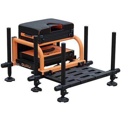 Station guru orange team guru seatbox 2.0 - siège feeder | Pacific Pêche