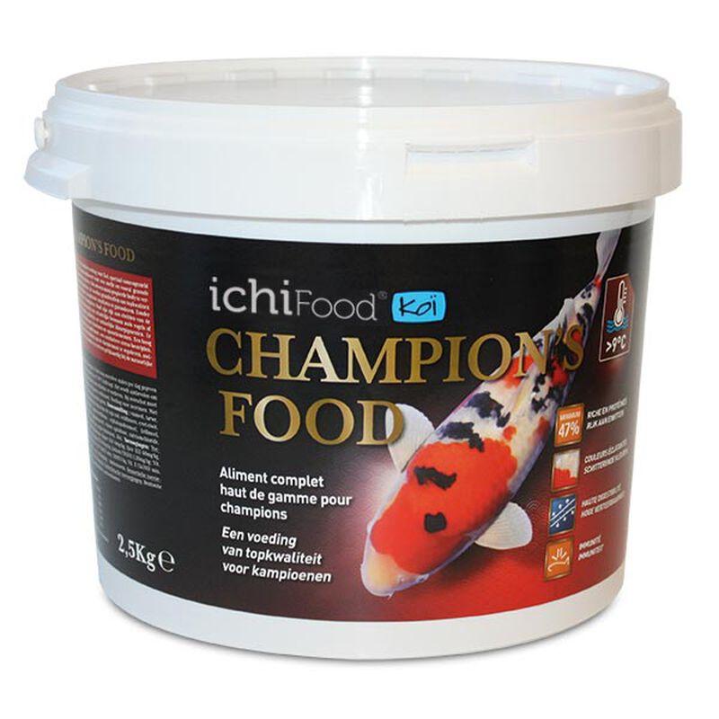 Aliment ichifood champion's 4-5mm - Alimentation et soin du poisson | Pacific Pêche