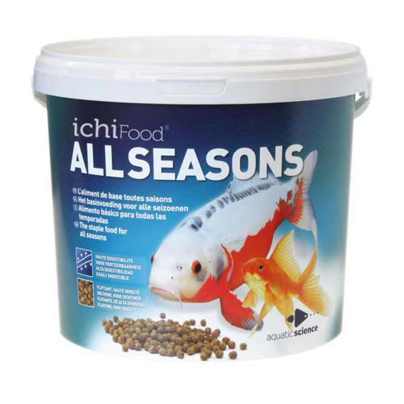 Aliment ichifood all season 2-3mm - Alimentation et soin du poisson   Pacific Pêche