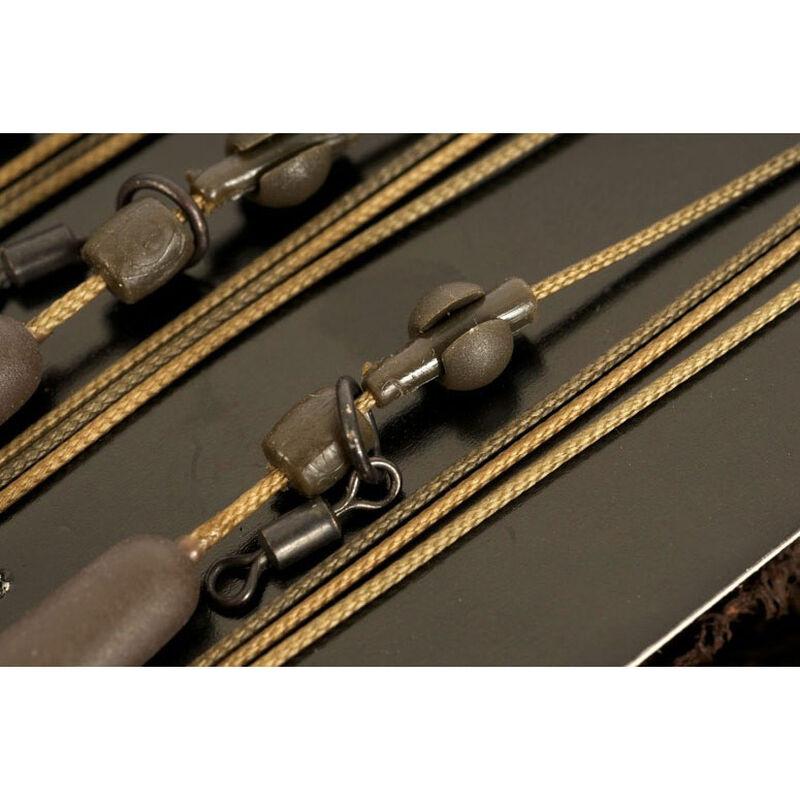 Leadcore carpe korda heli 1m x3 - Kit Montage Complet | Pacific Pêche