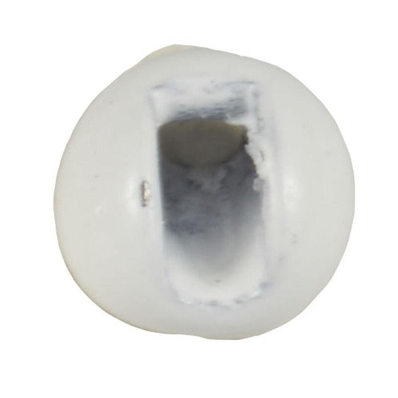 Fly tying billes en tungstene fendues blanches jmc (x25) de 2 mm à 3,8 mm - Billes | Pacific Pêche