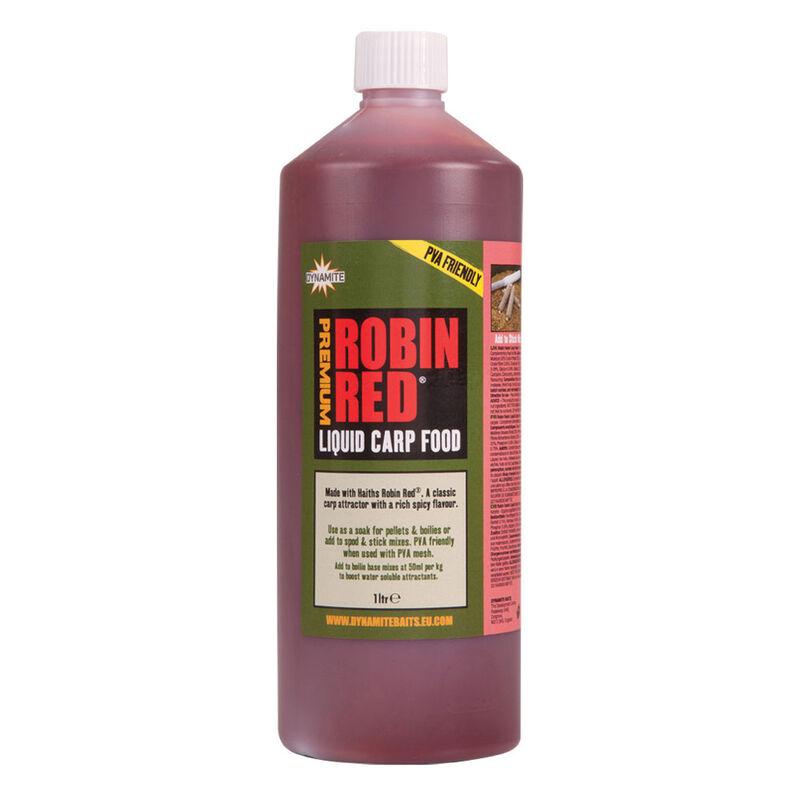 Booster carpe dynamite baits robin red liquid carp food 1l - Boosters / dips | Pacific Pêche