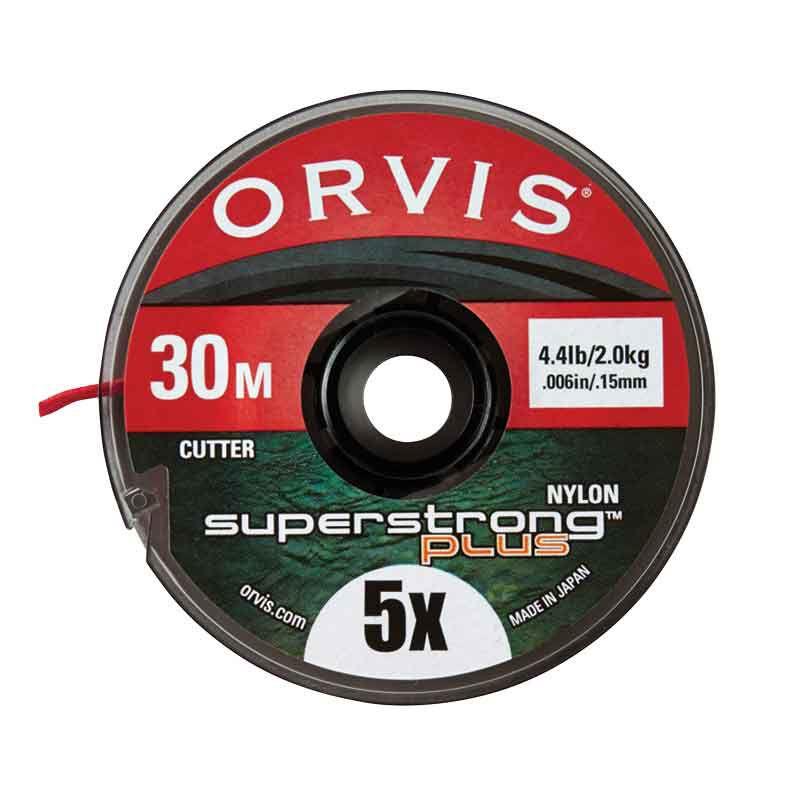 Fil nylon mouche orvis super strong plus (30 m) - Monofilaments | Pacific Pêche