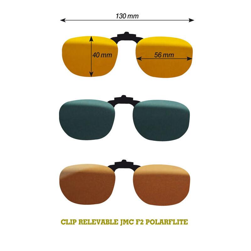 Lunettes polarisantes jmc clip f2 photochromique - Clips | Pacific Pêche