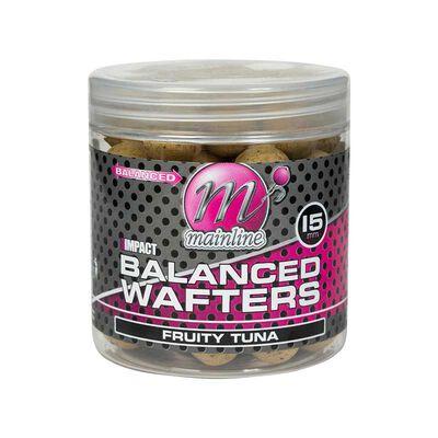 Bouillettes équilibrées carpe mainline high impact balanced wafters fruity tuna - Equilibrées | Pacific Pêche