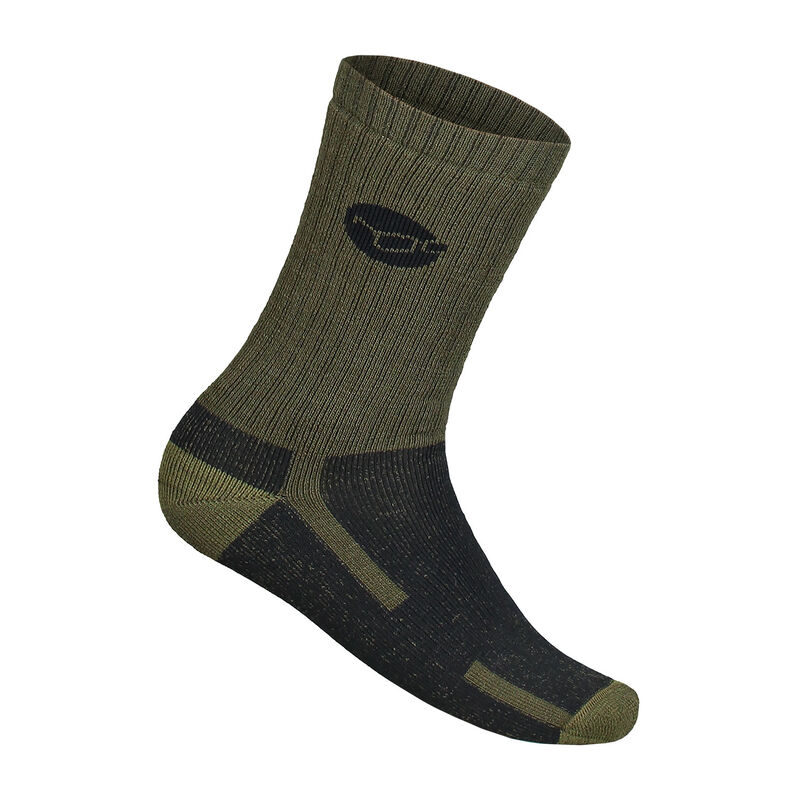 Chaussettes korda kore merino wool sock olive - Chaussettes | Pacific Pêche