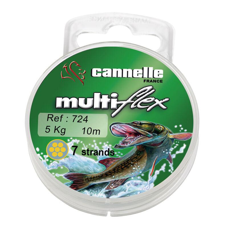 Bas de ligne acier carnassier cannelle multiflex c724 10m - Bas de ligne acier | Pacific Pêche
