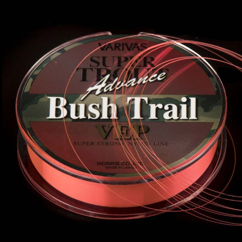 Fil nylon orange fluo varivas super trout advance bush trail 100m - Fils-nylons | Pacific Pêche