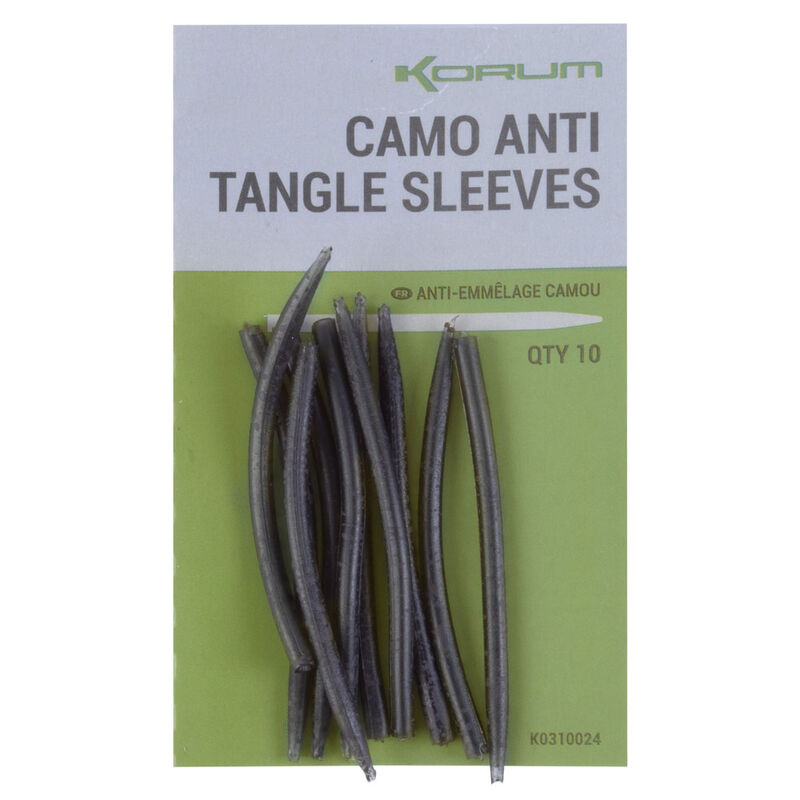 Anti-tangle sleeves camo korum (10 piéces) - Emerillons / Agrafes / Perles | Pacific Pêche
