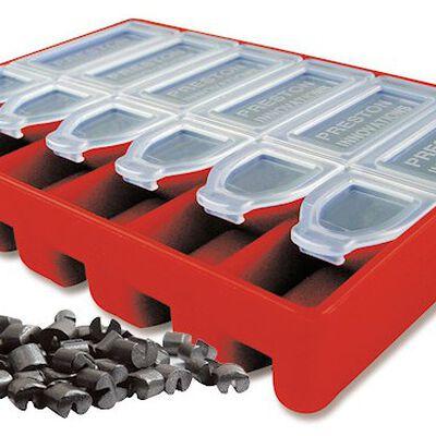 Boite de plombs fendus coup preston stotz dispensers 8/9/10/11 - Plombs Fendus | Pacific Pêche