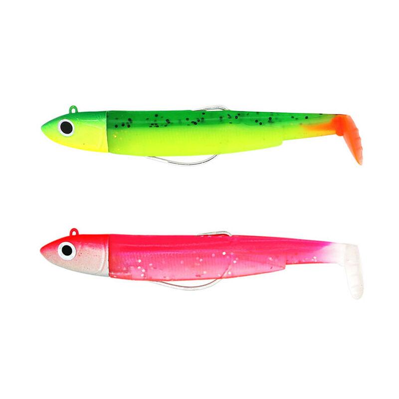 Leurre souple double combo black minnow 90 offshore 9cm 10g taille 2 - Leurres souples | Pacific Pêche