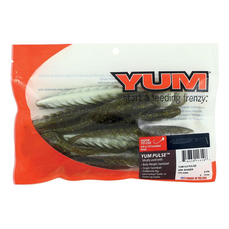 Leurre souple shad carnassier yum pulse 11.5cm (x8) - Leurres shads | Pacific Pêche