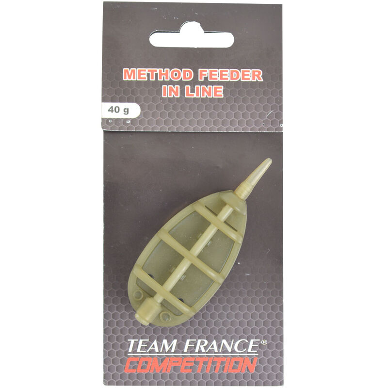 Plomb feeder team france method feeder in line - Cages Feeder | Pacific Pêche