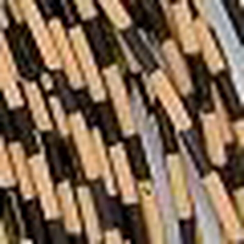 Matériau synthétique mouche jmc gomma poppers zébré (pattes latex) - Matériaux Elastiques | Pacific Pêche