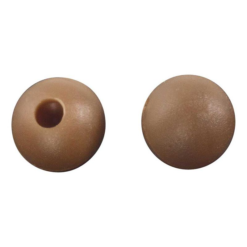 Perles rok chod beads brown - pochette de 25 - Perles | Pacific Pêche
