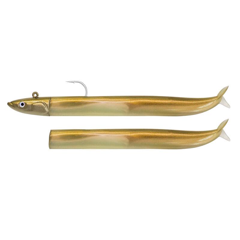 Leurre souple monté fiiish combo crazy sand eel 300 tête off shore 30cm 160g taille 4 - Leurres souples | Pacific Pêche