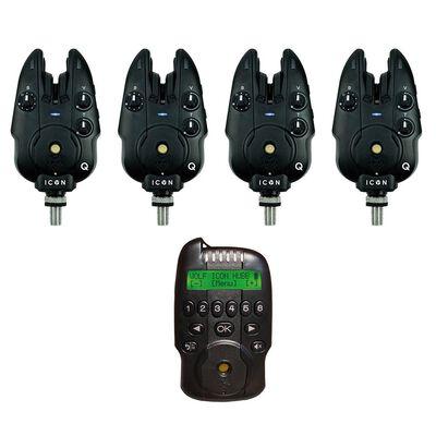Coffret 4 détecteurs wolf icon q + centrale hubb - Coffrets détecteurs | Pacific Pêche