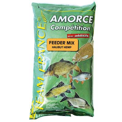 Method mix coup team france feeder mix halibut hemp 1kg - Amorces | Pacific Pêche