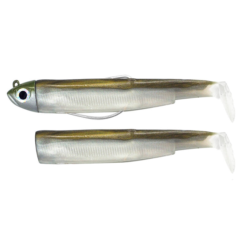 Leurre souple fiiish combo black minnow 90 shore 9cm 5g - Leurres shads | Pacific Pêche